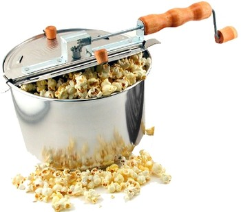 Fireworks Popcorn Whirley Pop Stovetop Popper