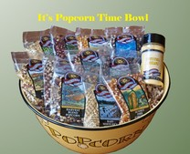 It's Popcorn Time Bowl Set